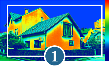Step 1 - Test the property for energy efficiency